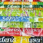 「Eden's Paper」土に埋めると野菜が育つ不思議な紙