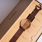 自然とデザインが調和したおしゃれな木製オーガニック腕時計