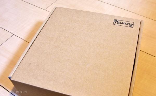 kasamyリリィ型パイプのパッケージ