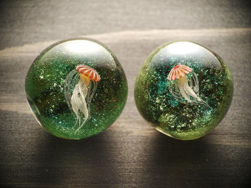 神秘的!彩元堂のトンボ玉が信じられないほど生物の再現度高い!