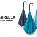 まさに逆転の発想!機能的でおしゃれな傘UnBRELLA