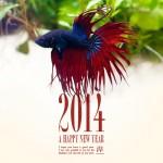 2014年 明けましておめでとうございます!!今年もグラスデザインを宜しくお願いします☆