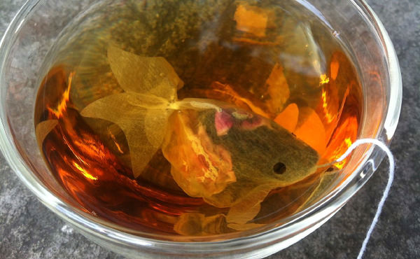 女性におすすめ☆かわいい金魚の紅茶ティーバッグ