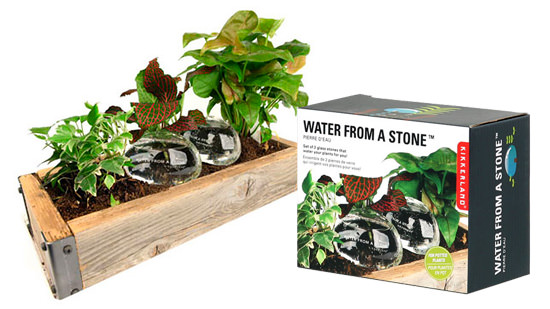 WATER FROM A STONEパッケージ