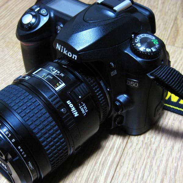 #079 ゾエは一眼レフカメラNikon D50を手に入れたっ!!