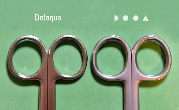 DOOAとDo!aquaの水草トリミング用ハサミ
